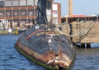 Submarine NDSM shipyard Amsterdam